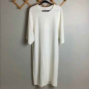 COS off white oversized Minimalist dress size XS